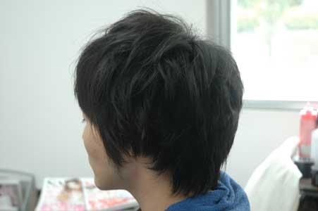 前髪が暑くて・・・・・。1