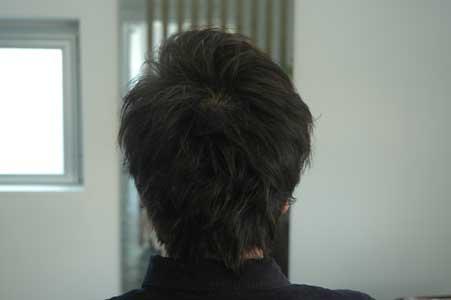 髪質を生かしたショート。1