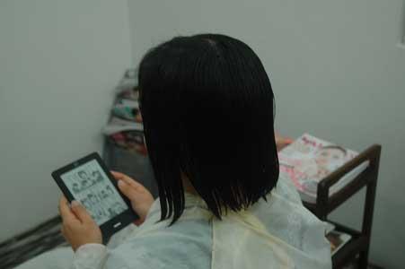 沖縄県宜野湾市美容室stylista|季節外れのショートボブ。1