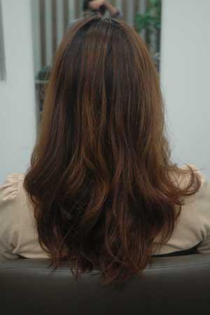 沖縄県宜野湾市美容室stylista|くせ毛をデジパ風。1