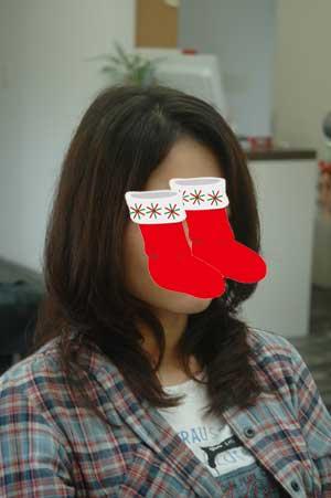 沖縄県宜野湾市美容室stylista|伸びたパーマを生かしてお姉さんスタイル。2