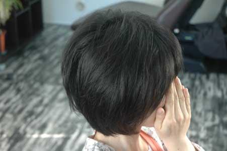 沖縄県宜野湾市美容室stylista|前下がりのレイヤーボブ。1