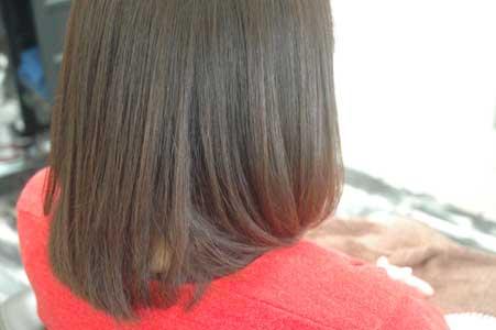 沖縄県宜野湾市美容室stylista|明度を変えずに彩度を変える。2