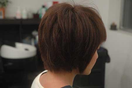 沖縄県宜野湾市美容室stylista|前髪、攻めちゃってます(笑)。1