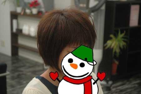 沖縄県宜野湾市美容室stylista|前髪、攻めちゃってます(笑)。2