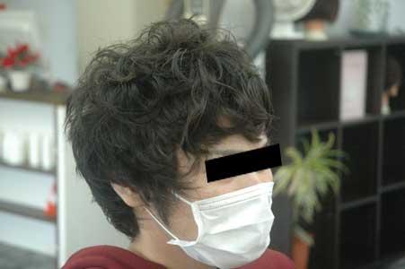 沖縄県宜野湾市美容室stylista|初パーマ♪。1