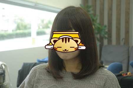 沖縄県宜野湾市美容室stylista|縮毛ついでに毛先ヘナ。2