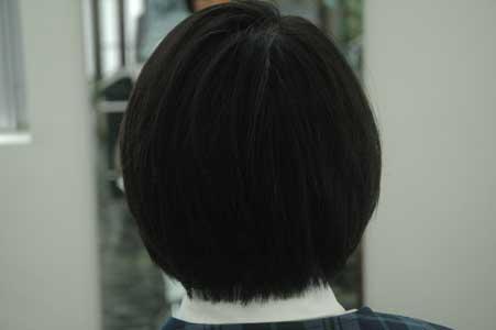 沖縄県宜野湾市美容室stylista|シンプルなグラボブ。1