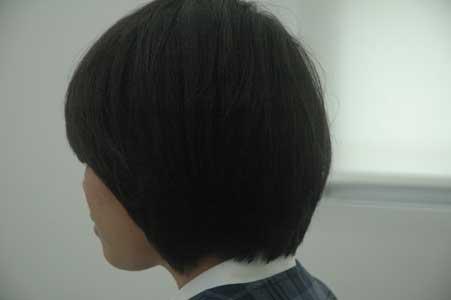 沖縄県宜野湾市美容室stylista|シンプルなグラボブ。2