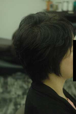 沖縄県宜野湾市美容室stylista|すっきりとがっぱいをつくる・1