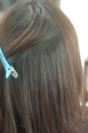 沖縄県宜野湾市美容室stylista|普通にくせ伸ばし。2