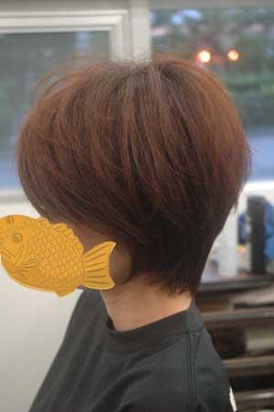 沖縄県宜野湾市美容室stylista|ラグジュアリーな前下がりボブ。1
