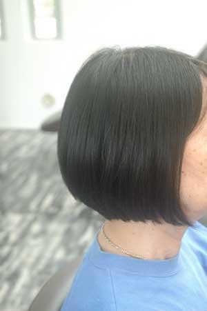 沖縄県宜野湾市美容室stylista|おかーをボブ2013/6月バージョン。1