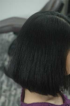 沖縄県宜野湾市美容室stylista|ばっさりカット。3