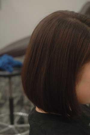 沖縄県宜野湾市美容室stylista|またもや前下がりのボブ。1