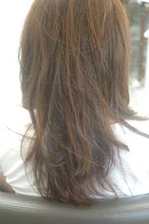 沖縄県宜野湾市美容室stylista|重く見えるのは量のせいではない。1