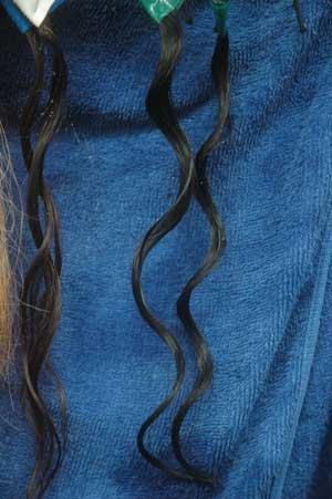 沖縄県宜野湾市美容室stylista|黒毛にタンニンパーマ。1