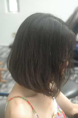 沖縄県宜野湾市美容室stylista|お姉さん系ボブ。1