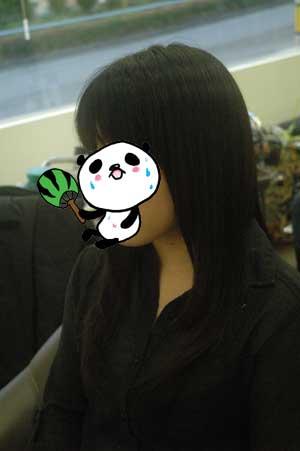 沖縄県宜野湾市美容室stylista|黒戻しもハーブカラー。1