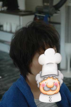 沖縄県宜野湾市美容室stylista|くせ毛をいかしたショートボブ。2