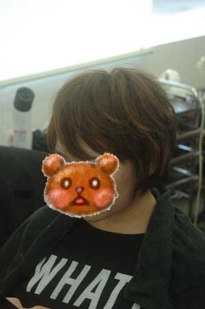 沖縄県宜野湾市美容室stylista|気が変わってショートボブ。2