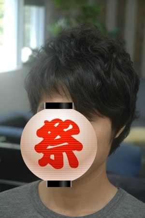 沖縄県宜野湾市美容室stylista|前髪ストレート。2