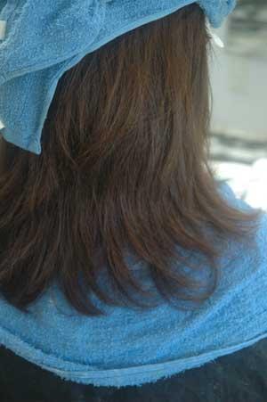 沖縄県宜野湾市美容室stylista|トーリートメント ついでにハーブカラー。1