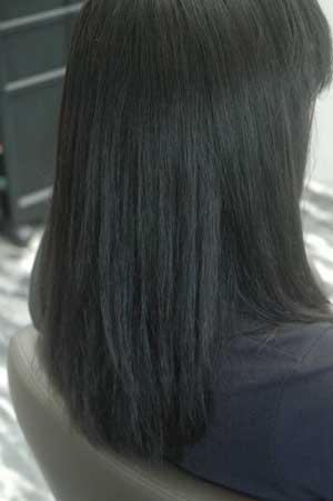 沖縄県宜野湾市美容室stylista|夏の日差しでカラーが焼ける。2
