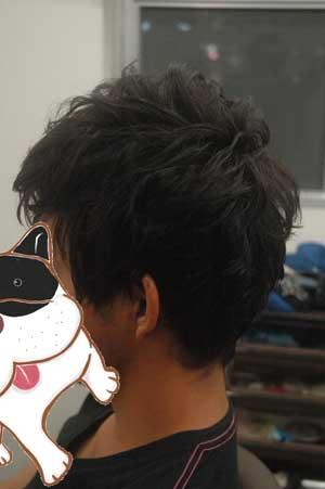 沖縄県宜野湾市美容室stylista|前髪アシメのショート。1