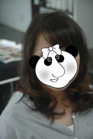沖縄県宜野湾市美容室stylista|動きを出すミディアムスタイル。1