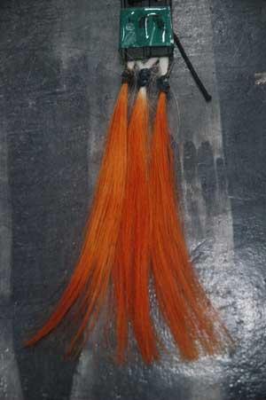 沖縄県宜野湾市美容室stylista|水によるヘナの発色の違い。1