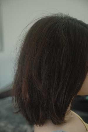 沖縄県宜野湾市美容室stylista|ボブに動きを出して。1