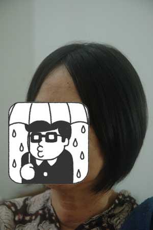 沖縄県宜野湾市美容室stylista|骨格を無視して前下がりボブ。2