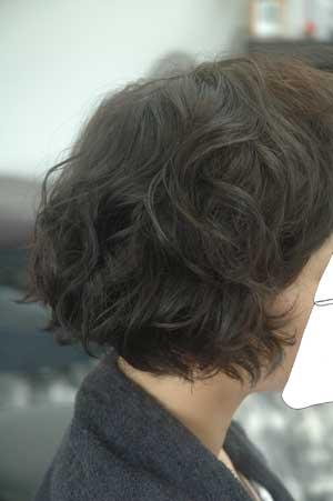 沖縄県宜野湾市美容室stylista|ボブのパーマ。1