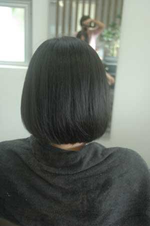 沖縄県宜野湾市美容室stylista|柔らかいボブ。2
