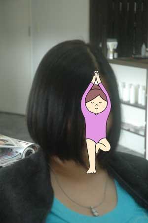 沖縄県宜野湾市美容室stylista|柔らかいボブ。3
