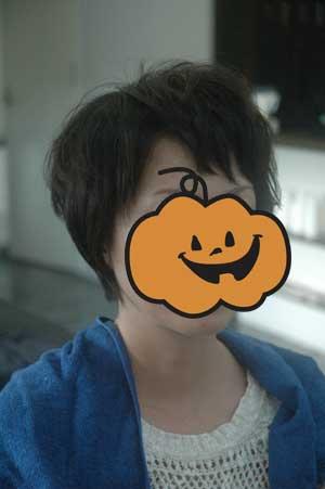沖縄県宜野湾市美容室stylista|前髪は眉上で(笑)。2
