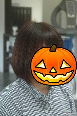 沖縄県宜野湾市美容室stylista|シンプルボブ。2