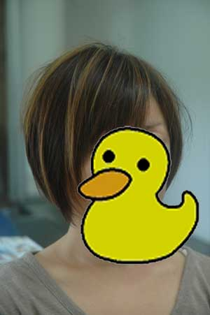 沖縄県宜野湾市美容室stylista|すっきりショートボブ。2