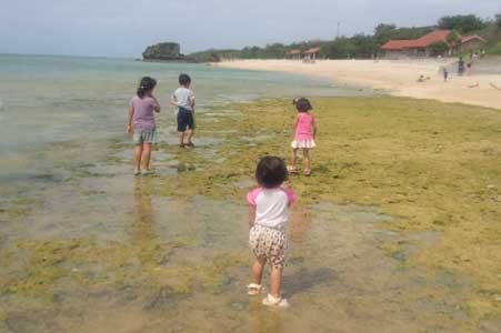 沖縄県宜野湾市美容室stylista|海遊び。2