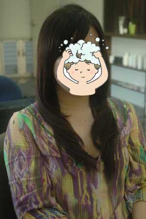 沖縄県宜野湾市美容室stylista|伸ばしていたら髪がぱらぱら。1
