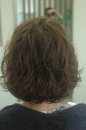 沖縄県宜野湾市美容室stylista|リッジが残るパーマ1