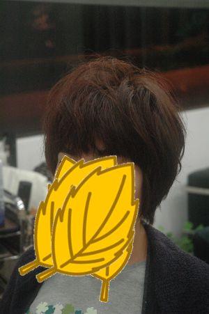 沖縄県宜野湾市美容室stylista|ショートボブ前髪短め(笑)。1