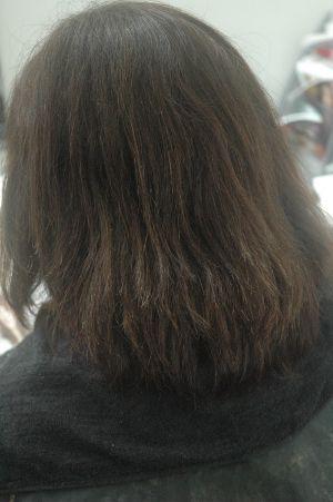 沖縄県宜野湾市美容室stylista|ヘナでくせ毛伸ばし。1