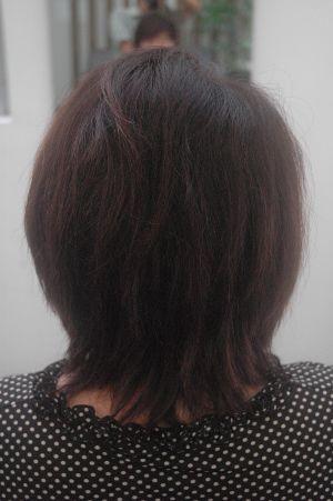 沖縄県宜野湾市美容室stylista|タンニンでくせ毛伸ばし。2