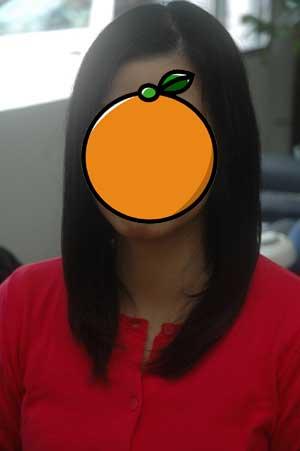 沖縄県宜野湾市美容室stylista|長さは変えずに軽さを出す。1