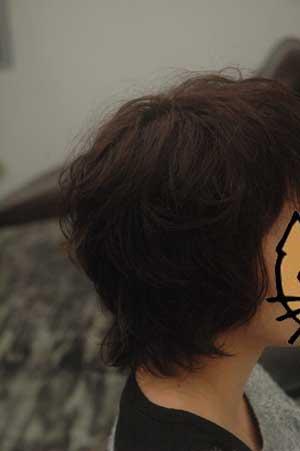 沖縄県宜野湾市美容室stylista|くしゃっとくせ毛を生かして。1
