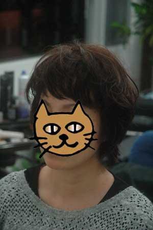 沖縄県宜野湾市美容室stylista|くしゃっとくせ毛を生かして。2
