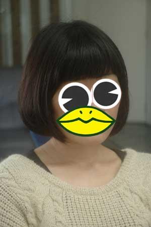 沖縄県宜野湾市美容室stylista|すっきりボブ。1