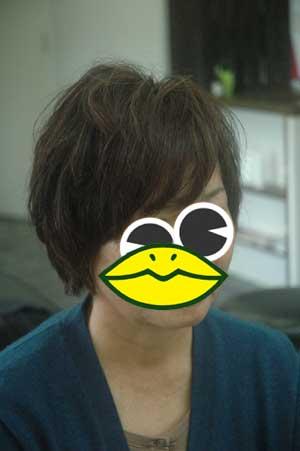 沖縄県宜野湾市美容室stylista|やさしいショートボブ。2